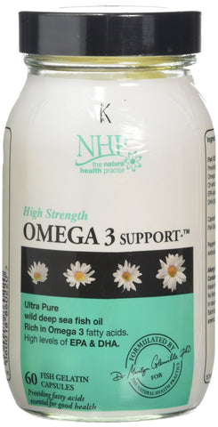 Natural Health Practice NHPG.OM60 Omega 3 Support 60 Capsules 60caps