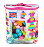 Mega Bloks Construx 900 DCH54 Big Building Bag, Pink