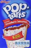 Kelloggs Pop Tarts Frosted Strawberry Sensation, 8 x 50g