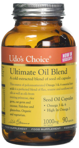 Ultimate Oil Blend UDO's Choice - Pack of 90 Capsules