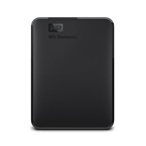 WD 3TB Elements Portable External Hard Drive - USB 3.0 Black 3 TB