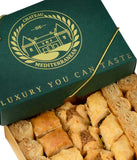 Vegan Baklava Baklawa, 24 Pieces, Chateau de Mediterranean, Gift Box with Ribbon