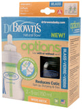 Dr Brown's Options Glass Twin Pack Bottles 150ml/50z