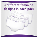 Always Discreet Incontinence Pants for Women, 18 High Absorbency Pants Medium (18 Count) 6 drops (Plus)