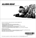 Alaska Bear - 2 Straps Silk Sleep Eye mask with Nose Baffle, Stay on My face All Night Two Straps(w/ Nose Baffle) Black