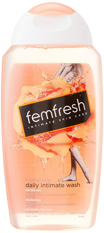 Femfresh Everyday Care Daily Intimate Wash, pH Balanced Feminine Wash with Gentle Aloe Vera, Hypoallergenic and Soap Free, 250ml