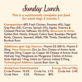 Lily's Kitchen Adult Sunday Lunch Wet Dog Food (10 x 150g) With Chicken, Potatoes and Peas