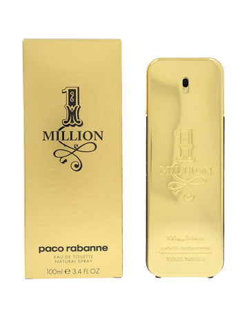 Paco Rabanne 1 Million Eau De Toilette for Men, 100 ml