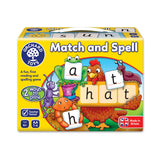 Orchard Toys Match and Spell Game Match and Spell Board
