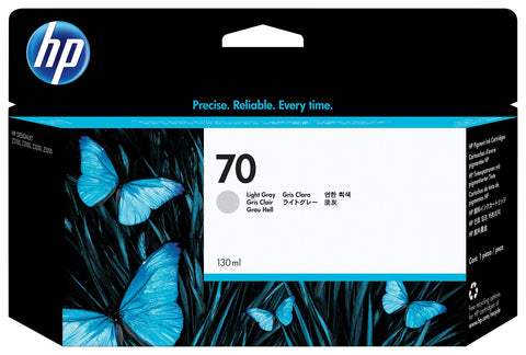 HP Original 70 Light Grey Ink Cartridge (130 ml)
