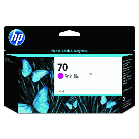 HP Original No.70 Magenta Ink Cart 130ml