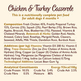 Lily's Kitchen Adult Chicken & Turkey Casserole Complete Wet Dog Food (10 x 150g) With Carrots, Squash and Pearl Barley
