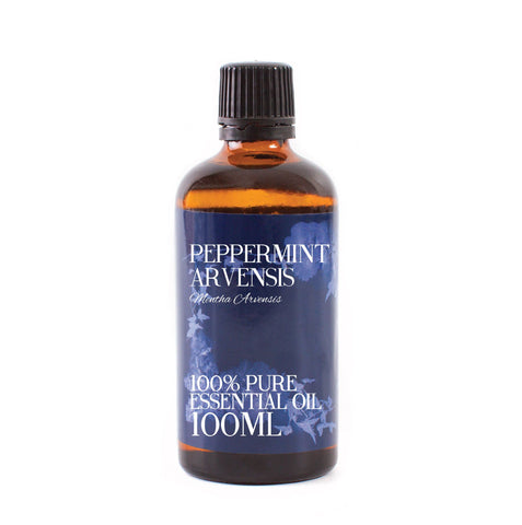 Mystic Moments | Peppermint Arvensis Essential Oil - 100ml - 100% Pure