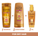 L'Oréal Elvive Extraordinary Oil Conditioner for Dry Hair 400ml Pack of 6 (Packaging May Vary) 2 | Conditioner