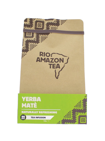 Rio Amazon Yerba Mate teabags - 90 Teabags  (PACK OF 1) 90 Bags