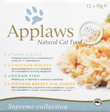 Applaws 100% Natural Wet Cat Food 70g Multipack Mixed12 x 70g Tins Mixed
