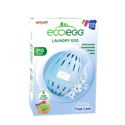 Ecoegg Laundry Egg (210 Washes) - Fresh Linen 210 Washes