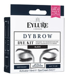 Eylure DYBROW Eyebrow Dye Kit - Black (Packaging may vary)