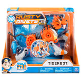 Rusty Rivets – Tigerbot Building Set with Lights and Sounds, for Ages 3 and Up