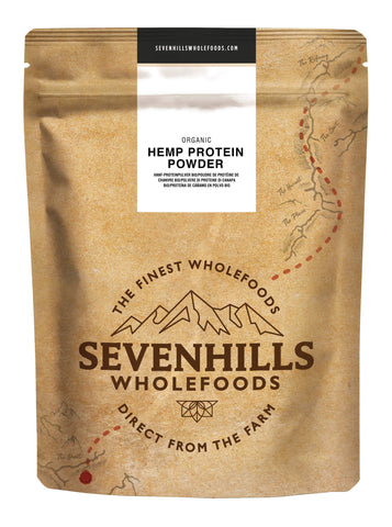 Sevenhills Wholefoods Organic Raw Hemp Protein Powder 500g