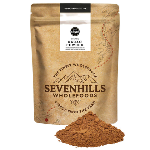 Sevenhills Wholefoods Organic Cacao/Cocoa Powder 500g 500 g