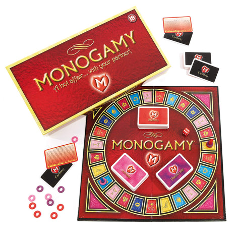 Monogamy: A Hot Affair… With Your Partner, Adult Couples Board Game