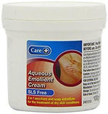 Care AQUEOUS EMOLLIENT Cream SLS Free for Dry Skin 100g
