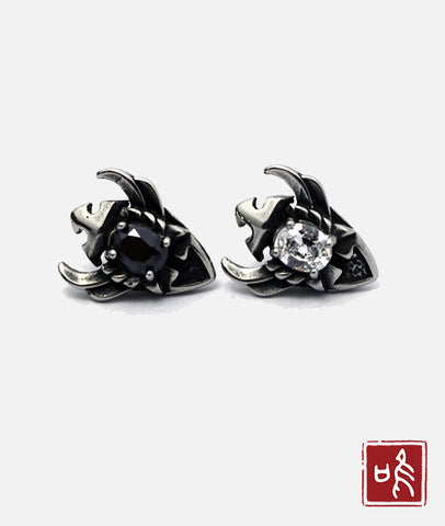 Fashion Stainless Steel Jewelry Embeded Zircon Stud