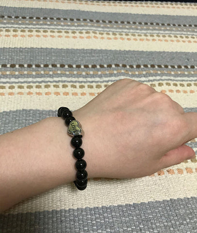 Beaded Bracelet Natural Agate Beaded Jewelry for Girls