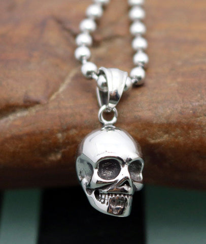 skull necklace jewelry for men