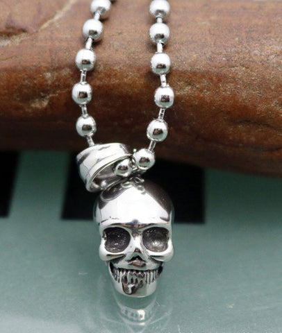 Fashion Skull Head Pendants for Punk Men