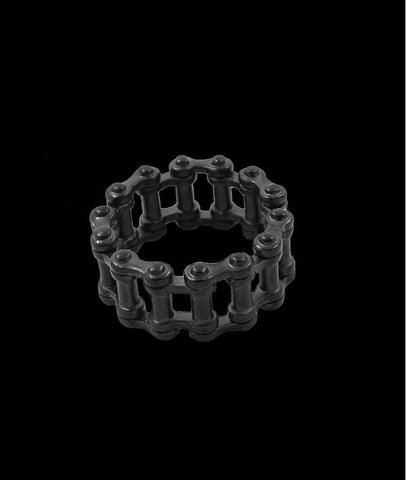 Alternative Bike Chain Rings Titanium Steel Jewelry