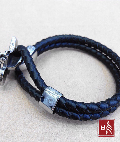 Angel Leather Bracelet
