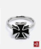 Love of Tail Ring Fashion and Simple Cross Retro Ring