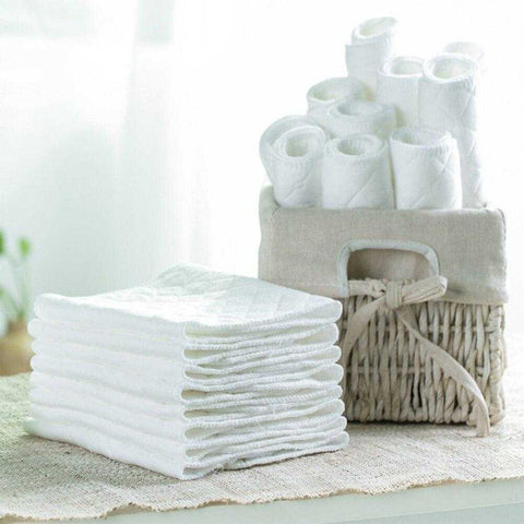 10 Eco-friendly Cotton Blend Diapers