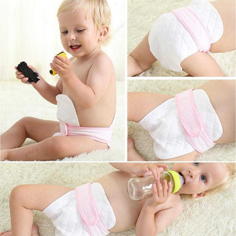 Image of 10 Eco-friendly Cotton Blend Diapers - MyShoppingSpot