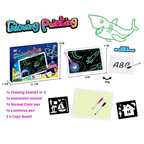 Image of Doodle Dudes Educational Drawing Board - MyShoppingSpot