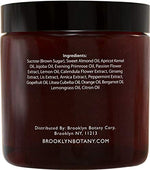 Brooklyn Botany Brown Sugar Body Scrub - Great as a Face Scrub & Exfoliating Body Scrub for Acne Scars, Stretch Marks, Foot Scrub, Great Gifts For Women - 10 oz - MyShoppingSpot