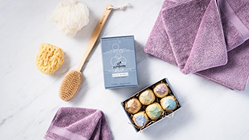 ArtNaturals Bath Bombs Gift Set - 6 Bubble Bath Bomb Fizzies - w/Essential Oils, Shea & Cocoa Butter - Aromatherapy for Spa & Relaxing - for Moisturizing Dry Skin - for Women, Kids & Men - MyShoppingSpot