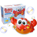 Baby Bath Bubble Toy Bubble Crab Bubble Blower Bubble Machine Bubble Maker with Nursery Rhyme Bathtub Bubble Toys for Infant Baby Children Kids Happy Tub Time - MyShoppingSpot