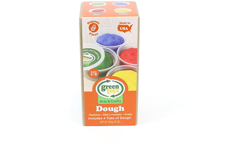 ECO-friendly Play Dough 4 Color Pack - MyShoppingSpot