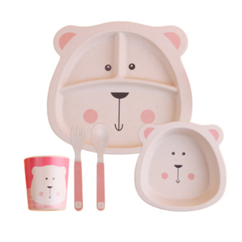 5 Piece Eco-Friendly Totz Dinner Set - MyShoppingSpot