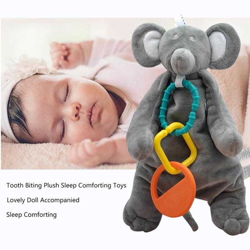 Eco-Friendly Baby Teething Comforter Towel - MyShoppingSpot