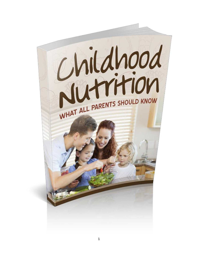 Childhood Nutrition - MyShoppingSpot