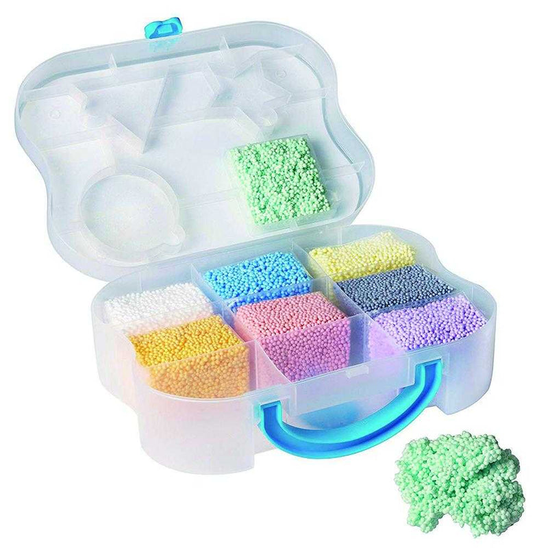 DIY education kids non dry aquosity snow pearl slime play foam beads putty clay dough for children - MyShoppingSpot