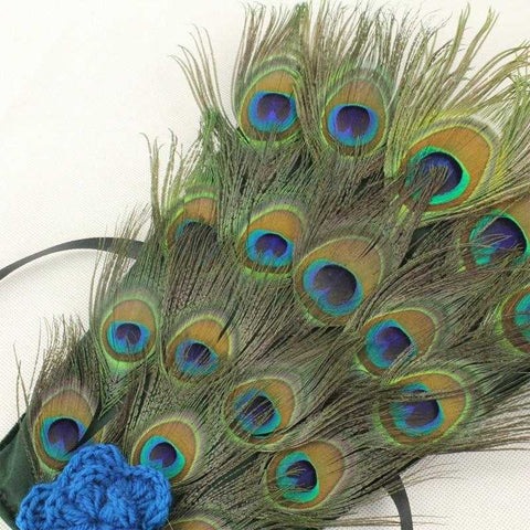 Peacock Newborn Photography Prop - MyShoppingSpot