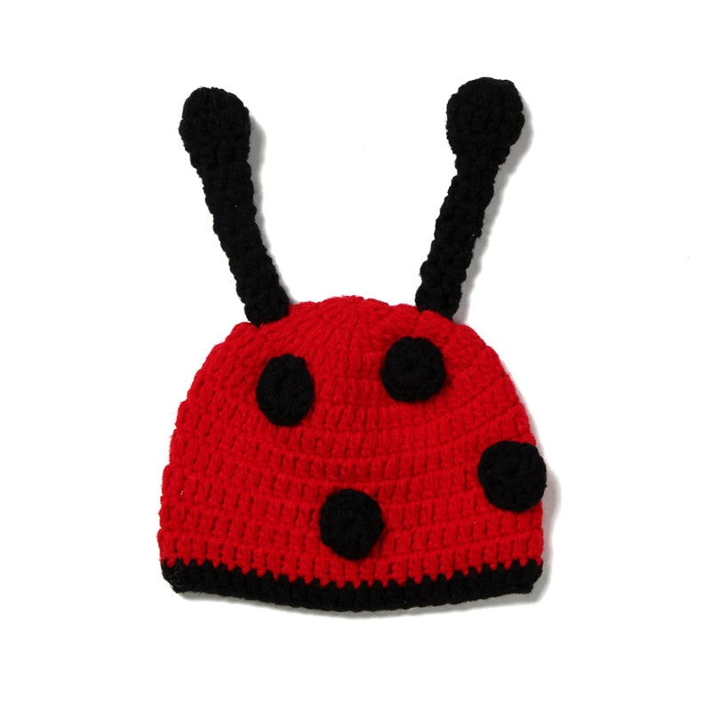Crochet Beetle Baby Photo Prop - MyShoppingSpot