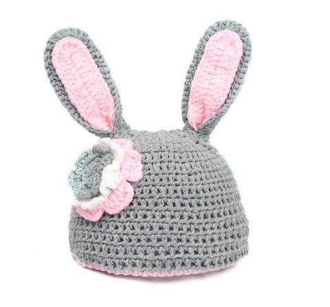 Crochet Baby Photo Prop Bunny Outfit