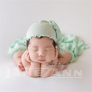 Baby Photo Props  Hat Headband and Wraps - MyShoppingSpot