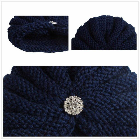 Image of Knitted Winter Baby Beanie - MyShoppingSpot